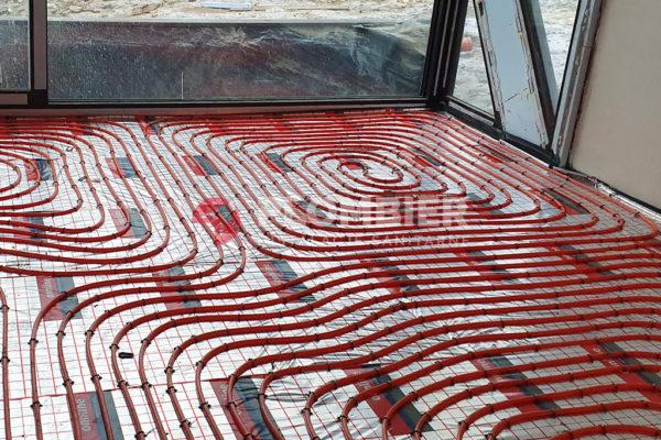 Ogrzewanie podłogowe w budynkach mieszkalnych w Zakopanem